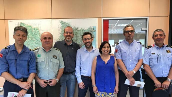 Les negligències causen tres de cada deu incendis forestals a Lleida