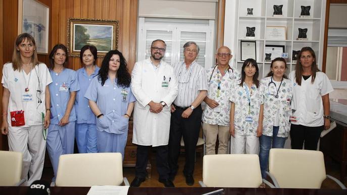 L'UCI de l'Arnau vol permetre l'entrada a mascotes de pacients i a la musicoteràpia