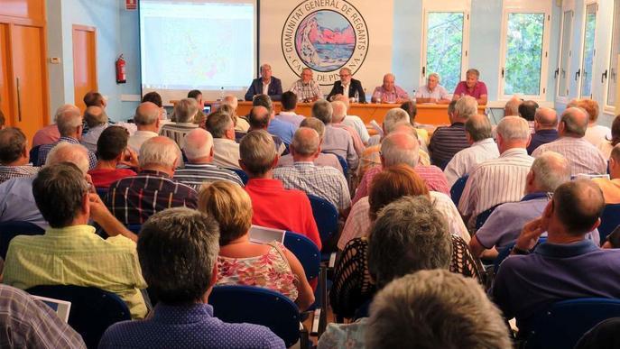 L'assemblea de regants de l'Horta aprova modernitzar el reg