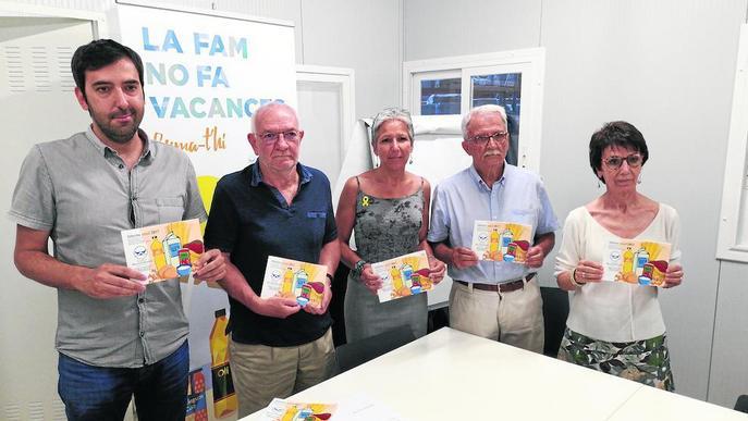 La meitat d'usuaris del Banc dels Aliments, de Lleida ciutat