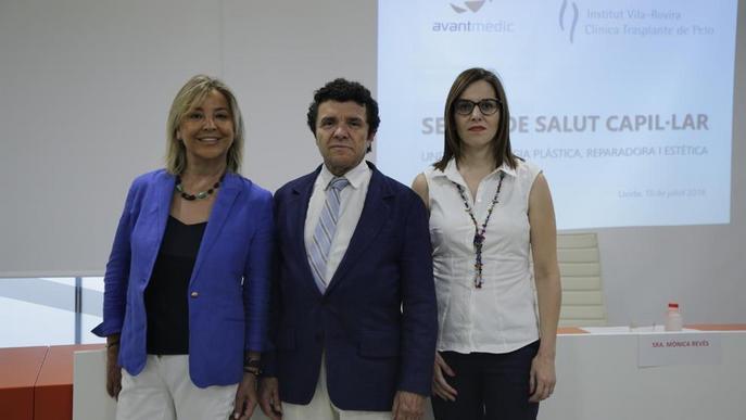 Lleida estrena una unitat de salut capil·lar que utilitza plasma per enfortir els cabells