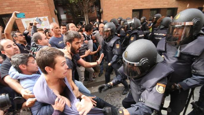 Judici per les càrregues de l'1-O a la Mariola, el segon a Catalunya