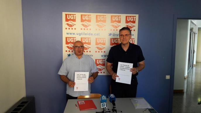 UGT exigeix millors infraestructures per a la implantació d'empreses