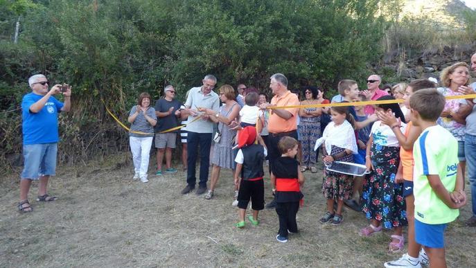 El nucli de Cerbi estrena zona de lleure i esport per als veïns