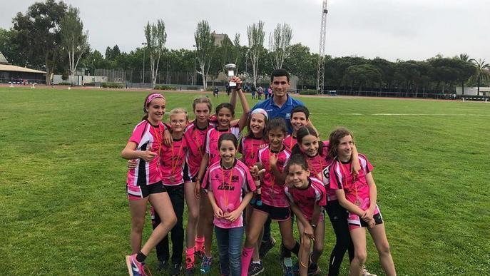 El Lleida UA sub-12 femení, el millor català