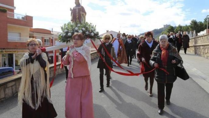 Mequinensa demana reconèixer la festa de Sant Blai i Santa Àgueda
