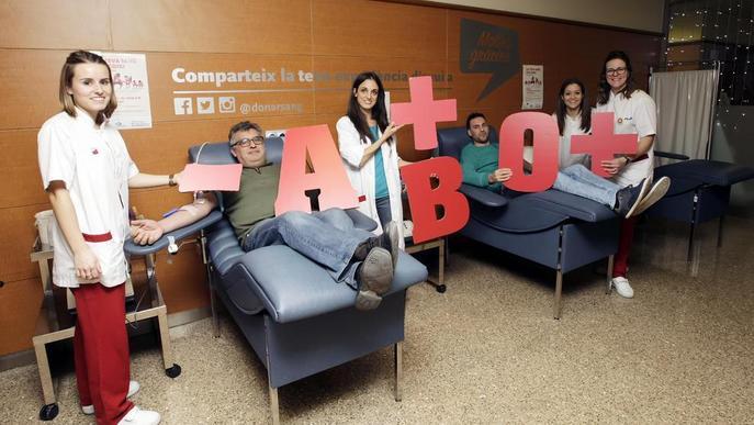 El Banc de Sang i Teixits supera les 35.000 donacions durant els mesos d'estiu