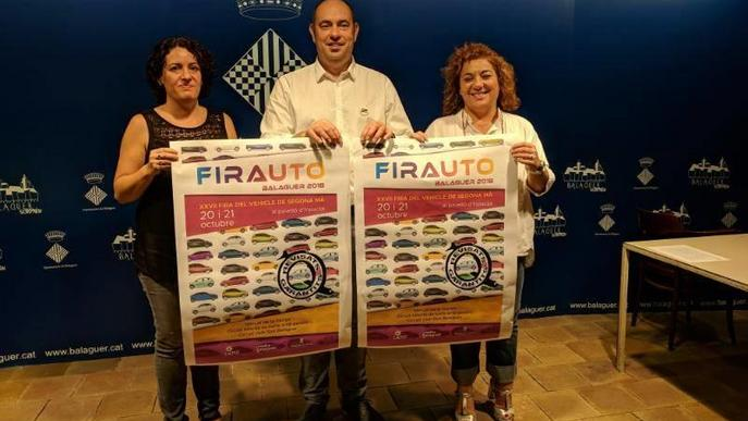 Balaguer exhibirà a Firauto dos-cents vehicles d'ocasió de vint expositors
