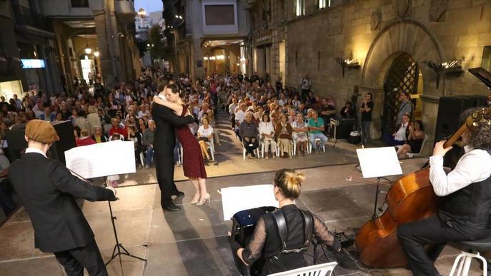 El Musiquem Lleida! arranca a ritme de tangos i merengues