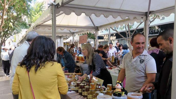 Nova edició del Mercat de l'Hort a Taula a la plaça Sant Joan