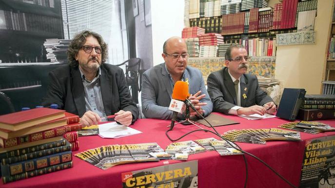 El centenari de Pedrolo presideix Cervera, Vila del Llibre