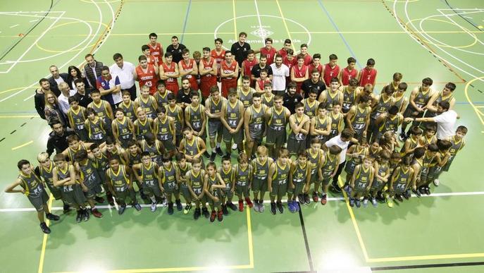 CB Cappont i Sícoris presenten els seus 10 equips