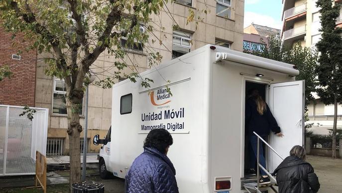 Una unitat mòbil assumeix mamografies de L'Aliança