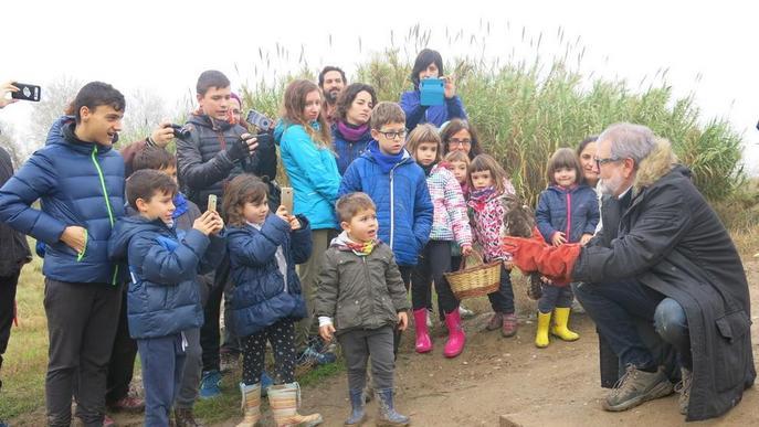 Inaugurada la millora ambiental i paisatgística dels aiguamolls de Rufea