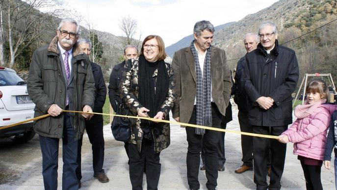 Inauguren el Parc Ton de Cal Massó d'Anserall, a les Valls de Valira