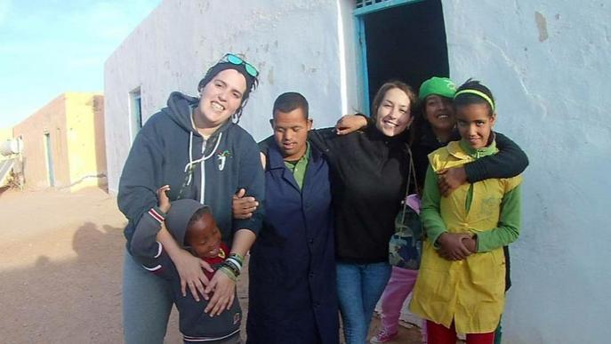 Cent seixanta alumnes de FP han fet pràctiques en un campament saharauí