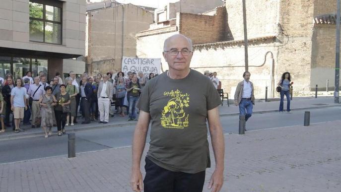 Acció per recaptar fons a favor de Josep Pàmies