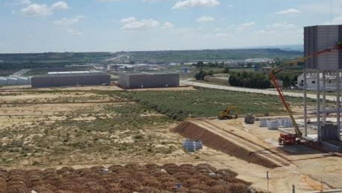 La Plataforma industrial de Fraga només té un 10% de sòl per ocupar