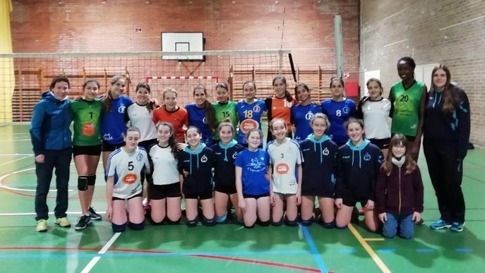 Primera concentració de la selecció infantil de Lleida