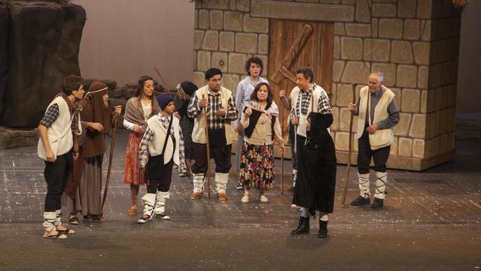 Cervera, Guissona i Tàrrega escenifiquen amb èxit 'Els Pastorets'