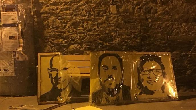 Denuncien vandalisme contra símbols independentistes