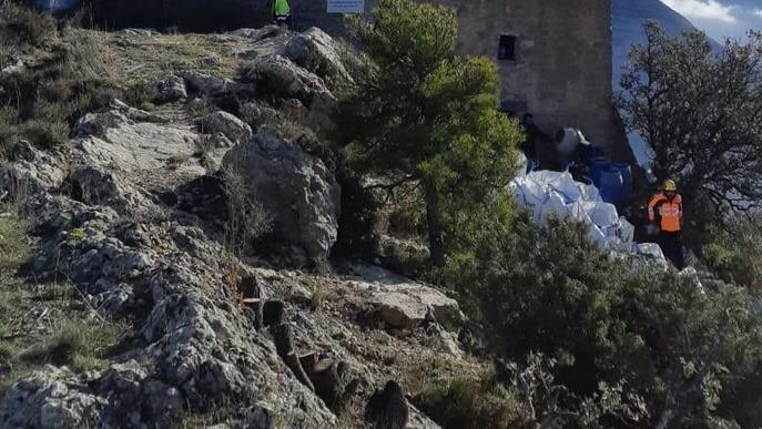 Rehabilitada l'ermita de Santa Fe d'Organyà