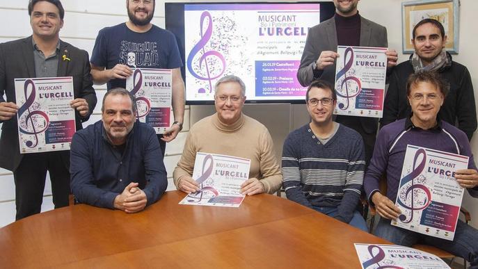Tres concerts amb 200 alumnes d'escoles de música de l'Urgell
