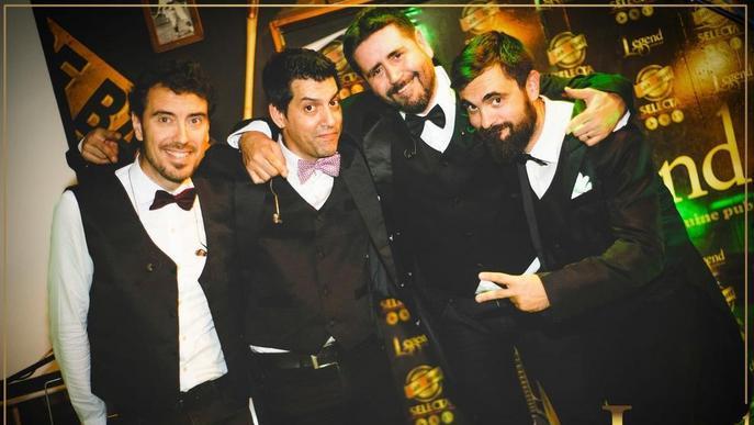 Versions amb la nova banda de Lleida Contigüo al JCA Alpicat