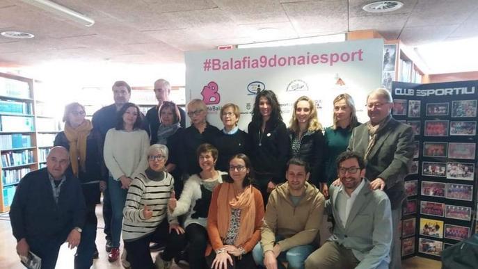 Dona Balàfia, deu anys per l'esport femení