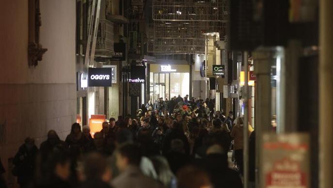 Els lleidatans mantenen l'aposta per les rebaixes malgrat els descomptes anticipats