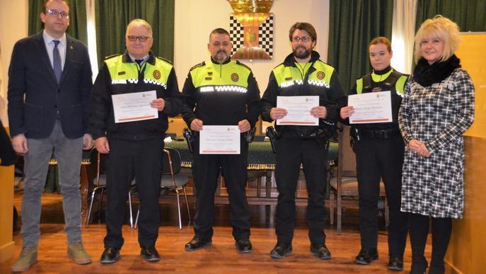 La Policia Local de Mollerussa, contra la violència masclista