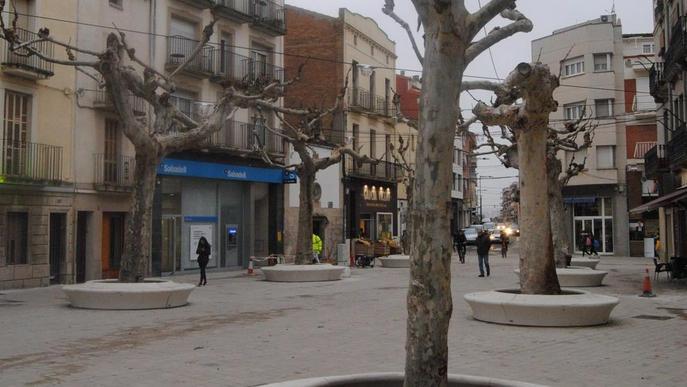 El mercat de Mollerussa, al centre