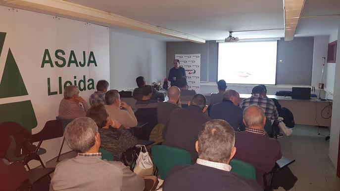 Agroseguro explica les novetats en les assegurances a la seu d'Asaja