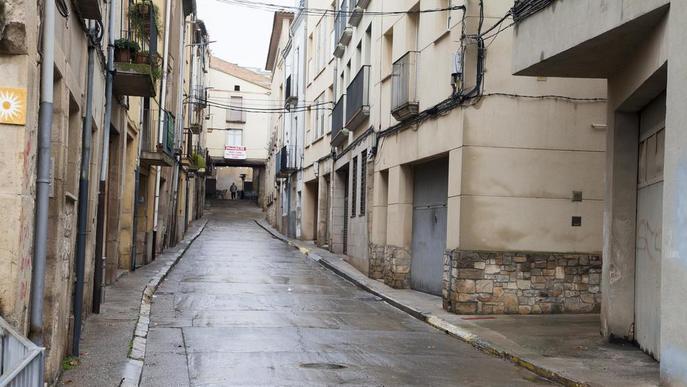 Tàrrega convertirà el carrer Sant Agustí en plataforma única