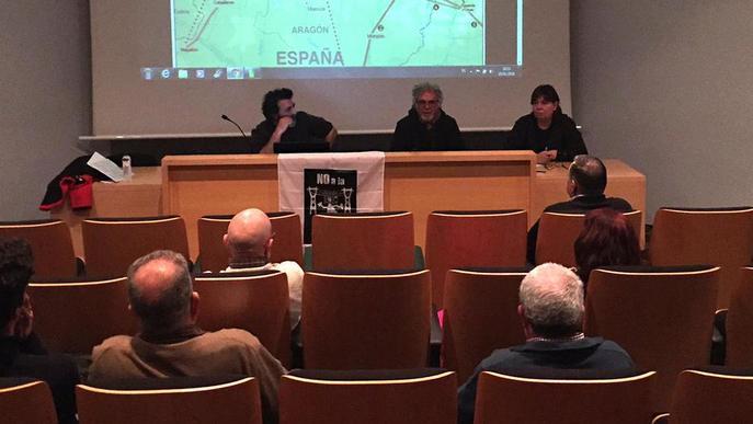 Al·legacions i protesta contra la subestació de REE a Isona