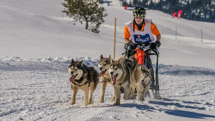 Una lleidatana, a la primera Snow Race