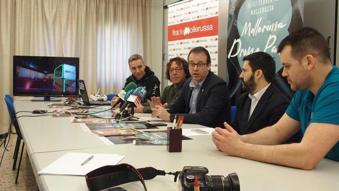 La primera cursa de drons de Catalunya, a Mollerussa