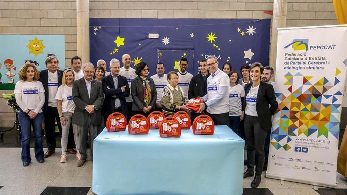 Donació solidària per als malalts de paràlisi cerebral