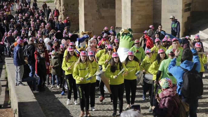 Unes 6.000 persones es posen la gorra per conscienciar sobre càncer infantil
