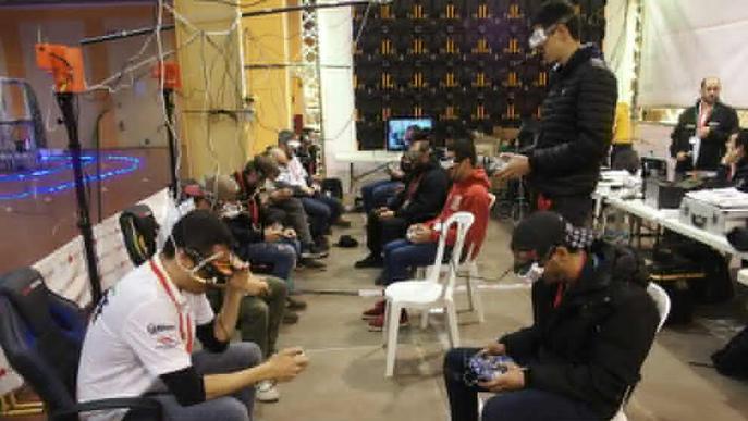 Èxit de públic al Mollerussa Drone Party