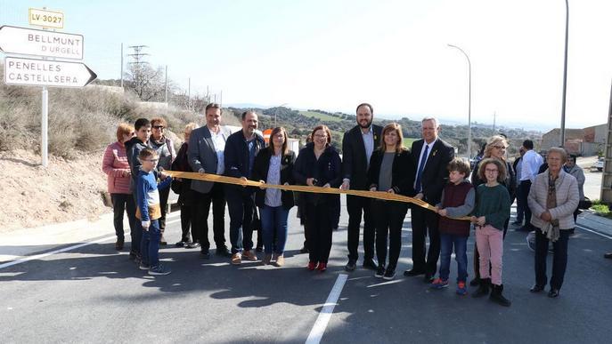 Millora de la carretera entre Bellmunt, Penelles i Castellserà