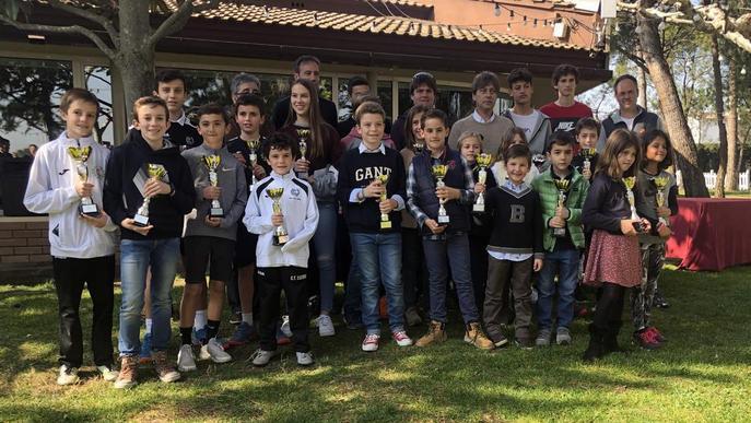 El CT Lleida premia els guanyadors del torneig