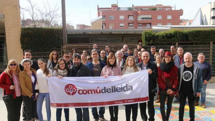 L'assemblea del Comú aprova la llista amb Talamonte com a alcaldable de Lleida
