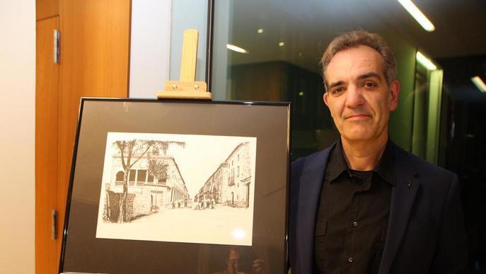 L'Almacelles de fa cent anys, en dibuixos a tinta