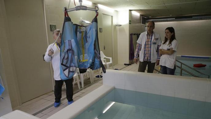 El CAP Onze de Setembre estrena per fi les primeres piscines públiques per a rehabilitació