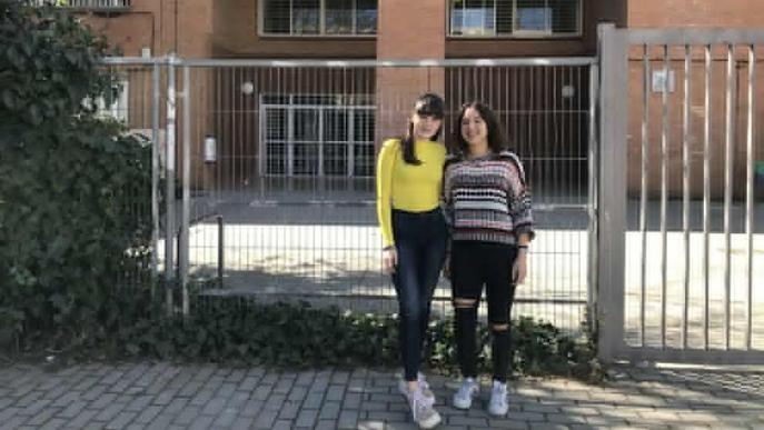 Dos alumnes d'ESO del Josep Lladonosa assessoren el síndic de greuges català