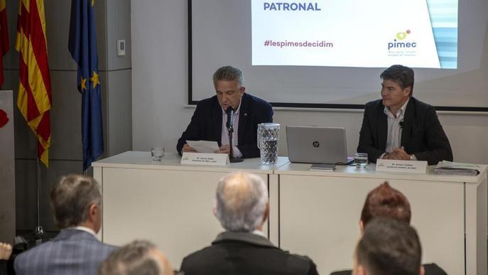 Foment i Pimec ultimen un pacte per la representativitat