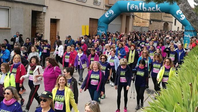 Agramunt aplega 800 atletes a la Cursa de la Dona