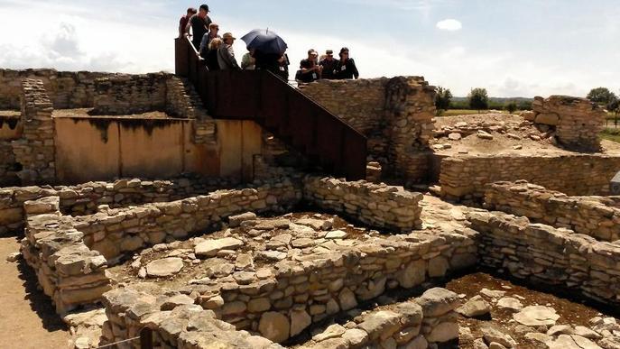 Les visites als Vilars, entorn de les 7.000 persones cada any