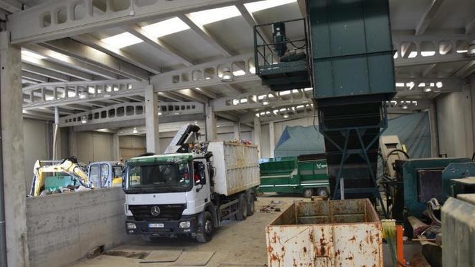 L'exportació d'escombraries a Andorra ja fa rendible la incineradora